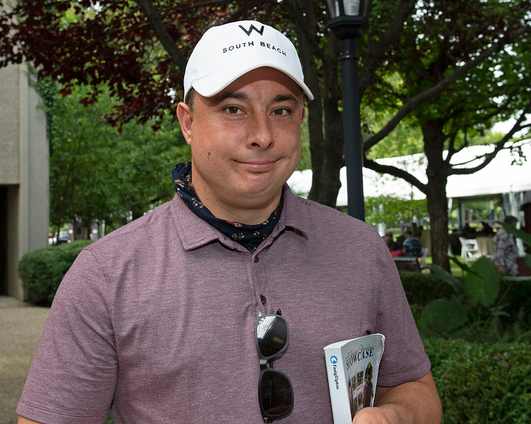 Simon Callaghan<br /> Fasig-Tipton Selected Yearlings Showcase in Lexington, KY on September 10, 2020.