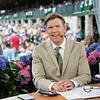 on set<br /> Matt Carothers and Keeneland scenes at Keeneland on April 11, 2019 in Lexington,  Ky.