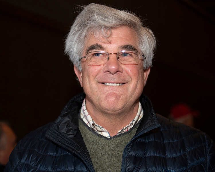 Buyer Doug Arnold. Hip 1035 Elle's Town from Bluewater<br /> Keeneland January Horses of all ages sales on<br /> Jan. 15, 2020 Keeneland in Lexington, KY.