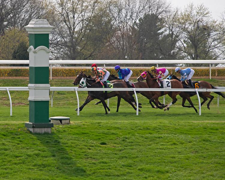 turf racing scene<br /> Matt Carrouthers and Keeneland scenes at Keeneland on April 11, 2019 in Lexington,  Ky.