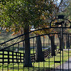 Entrance to Stepping Stone Farm (Old Crown Colony)<br /> at  Nov. 6, 2019  in Lexington, KY.