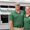 (L-R): Alex and Kendra Penn<br /> at the Keeneland September Sale.