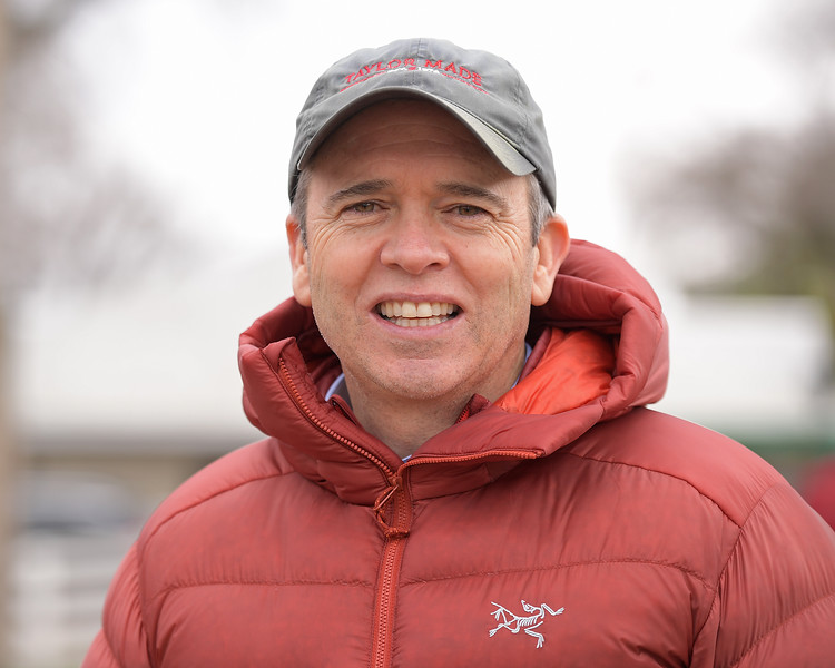 Mark Taylor. Hip 887 Supercommittee and Hip 1054 Folk Legend at Taylor Made.<br /> Keeneland January Horses of all ages sales on<br /> Jan. 14, 2020 Keeneland in Lexington, KY.