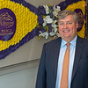 Caption: by blanket of flowers, reflection<br /> Breeders' Cup CEO and President Drew Fleming in the Breeders' Cup office in downtown Lexington, Ky., on June 16, 2020 Drew Fleming in Lexington, KY.