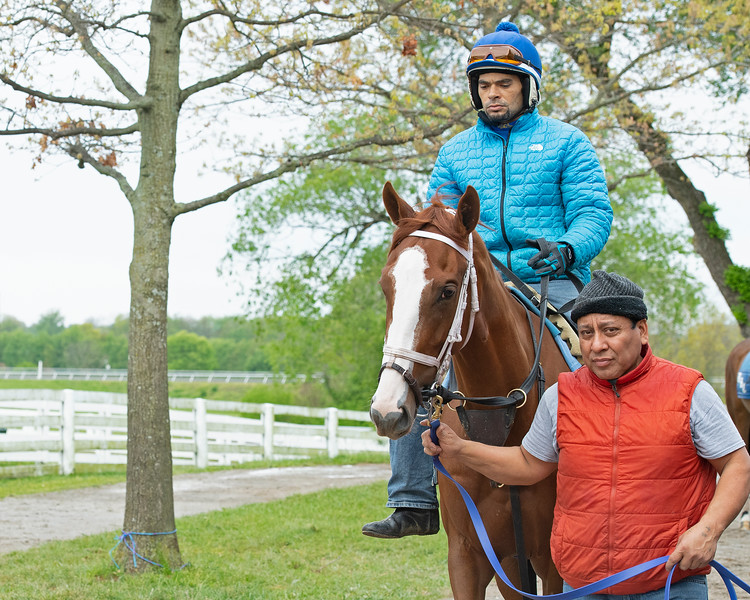Caption: Bonny South<br /> Keeneland scenes and horses on April 25, 2020 Keeneland in Lexington, KY.