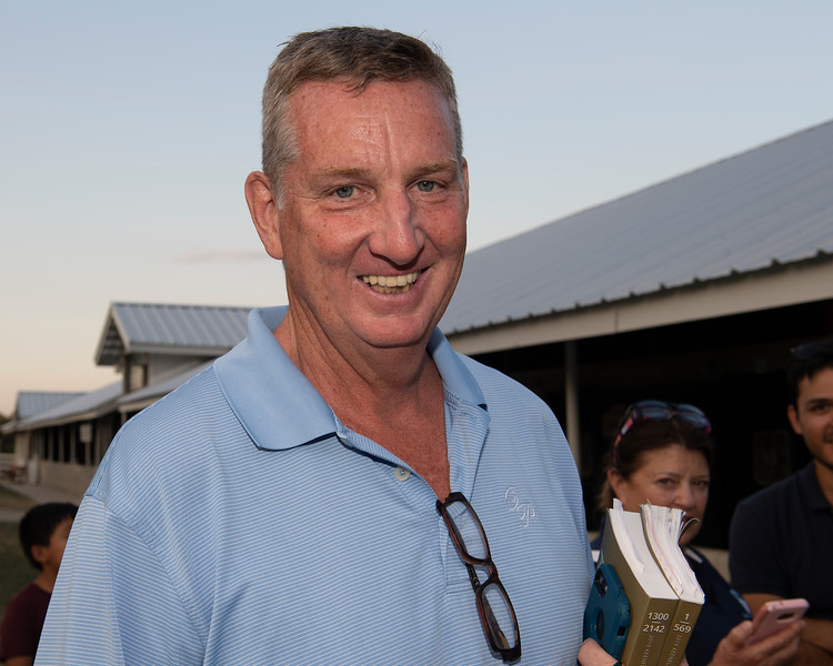 Larry DOyle with KatieRich<br /> at Keeneland.