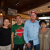 (L-R): Victoria Wang, Zhiqiang An, Jimmy and Martha Gladwell<br /> at the Keeneland September sale