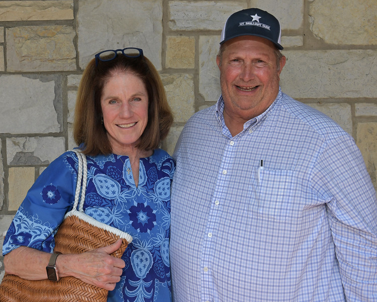 Becky and Greg Goodman<br /> at Keeneland.