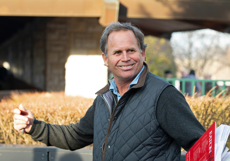 Really McDonald with Eaton<br /> Keeneland January Horses of all ages sales on<br /> Jan. 14, 2020 Keeneland in Lexington, KY.