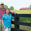 Caption: <br /> Chuck and Lyra Miller at Rosecrest Farm near Paris, Ky. on July 10, 2020 Rosecrest in Paris, KY.