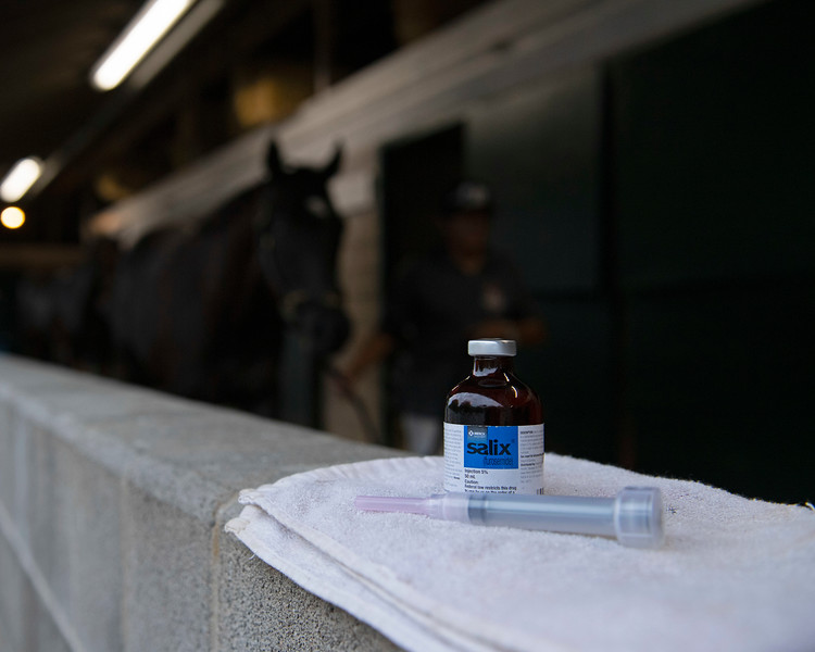 Medications at the racetrack