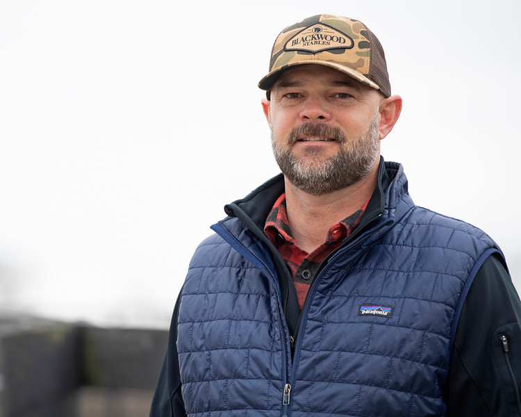 Guiness McFadden at Blackwood Stables on<br /> Feb. 27, 2020 Blackwood Stables in Versailles, KY.