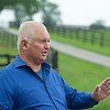 Caption:<br /> Lee and Susan Searing look over their bloodstock (mares, foals, yearlings) at Springhouse Farm near Nicholasville, Ky., on June 22, 2020 Springhouse Farm in Nicholasville, KY.