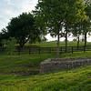 Caption: updated stone construction around natural springs on the farm. <br /> Aidan and Leah O'Meara at Stonehaven Steadings near Versailles, Ky. on Aug. 7, 2020 Stonehaven Steadings in Versailles, KY.
