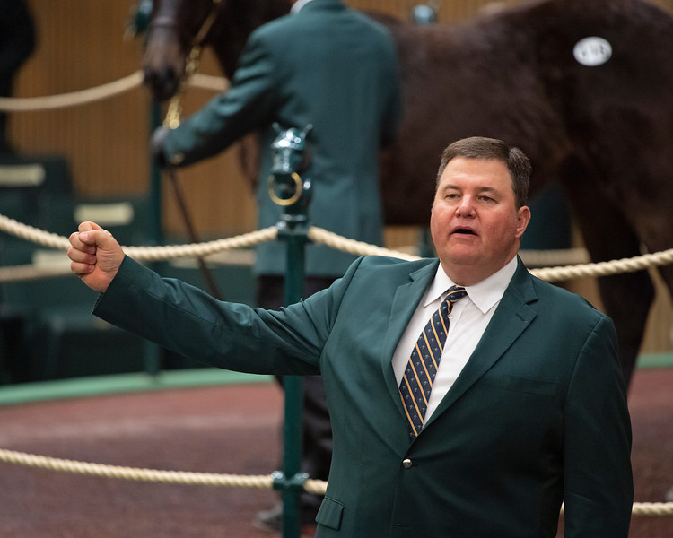 Mitchell Armitage <br /> Keeneland January Horses of all ages sales on<br /> Jan. 14, 2020 Keeneland in Lexington, KY.