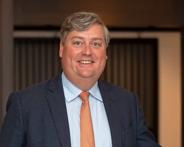 Caption:<br /> Breeders' Cup CEO and President Drew Fleming in the Breeders' Cup office in downtown Lexington, Ky., on June 16, 2020 Drew Fleming in Lexington, KY.