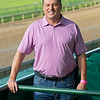 Caption: <br /> Tom Amoss at Churchill Downs in Louisville, Ky. on July 12, 2020 Churchill Downs in Louisville, KY.