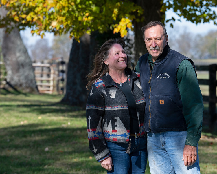 Jim Power and Susan Coyer<br /> at  Nov. 6, 2019  in Lexington, KY.