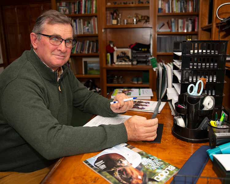 James Keogh in his office at Grovendale on Dec. 14, 2019 Grovendale in Versailles, KY.