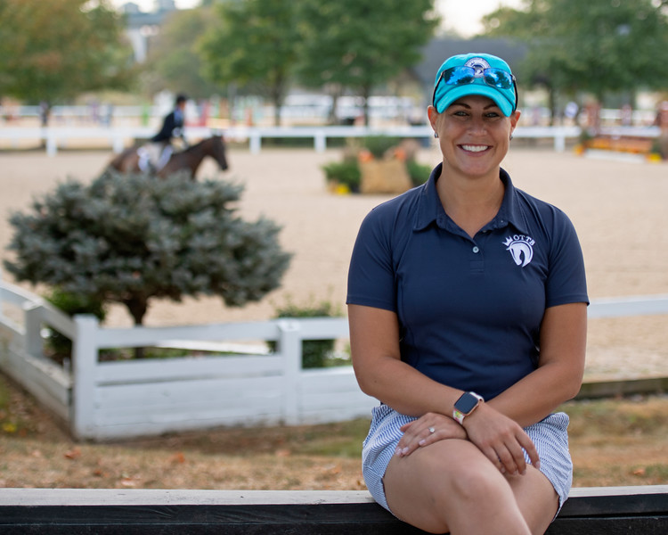 Jen Roytz<br /> Thoroughbred Makeover at the Kentucky Horse Park.