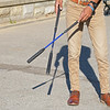 The standard crop and newer 360GT<br /> New style of riding crop (360) and the standard riding crop used by jockeys.