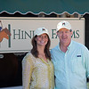 (L-R): Anne Archer Hinkle and Tom Hinkle with Hinkle Farms<br /> at the Keeneland September Sale.