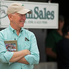 Bill Thomason<br /> at the Keeneland September Sale.