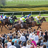 Start of Race 3 Our Alibi #1 with John McKee and scenes at Keeneland in Lexington, Ky., on April 4, 2019