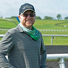 Randy Gullatt at WinStar Farm. Photo: Anne M. Eberhardt
