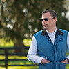 Caption: Phil Gardner, Director of Security<br /> Behind the Scenes at Keeneland during Covid19 virus and the people, horses, and essentials needed to take care of race horses on April 2, 2020 Keeneland in Lexington, KY.