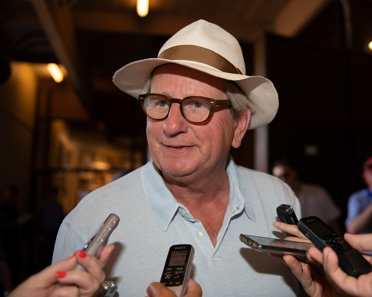 Anthony Stroud<br /> at the Keeneland September Sale.