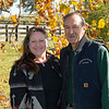 (L-R): Susan Coyer and Jim Power at Stepping Stone Farm<br /> at  Nov. 6, 2019  in Lexington, KY.