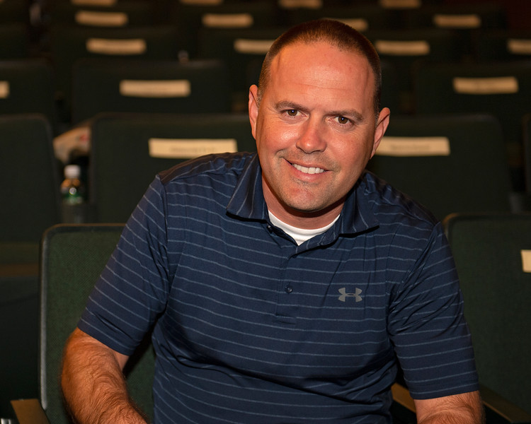 Chad Brown<br /> at the Keeneland September Sale.