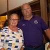 (L-R): Mandy Pope and Todd Quast<br /> at the Keeneland September Sale.