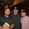 (L-R): Barry Dolan, Stephen Brunetti, and Rick Sacco<br /> at Keeneland.