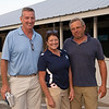 (L-R): Larry Doyle, Tammy Ingebritson, and Mark Hubley with KatieRich and Hip 2119<br /> at Keeneland.