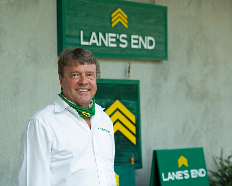 Todd Claunch at Lane's End<br /> Fasig-Tipton Selected Yearlings Showcase in Lexington, KY on September 9, 2020.