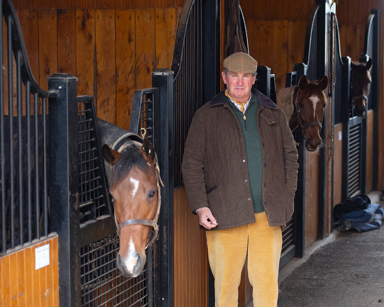 James Keogh in his barn at Grovendale on Dec. 14, 2019 Grovendale in Versailles, KY.