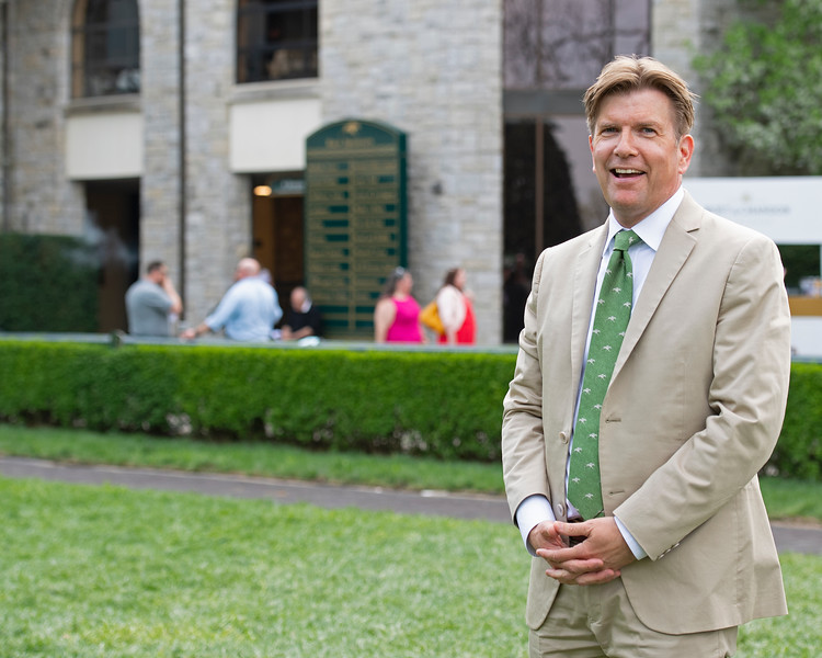 portrait in the paddock<br /> Matt Carothers and Keeneland scenes at Keeneland on April 11, 2019 in Lexington,  Ky.