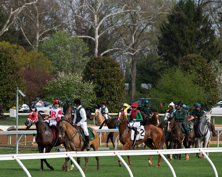 turf scene<br /> Matt Carrouthers and Keeneland scenes at Keeneland on April 11, 2019 in Lexington,  Ky.