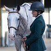 Emilie Figgins with #48 Blazin Luck<br /> Thoroughbred Makeover at the Kentucky Horse Park.