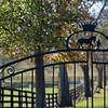 Entrance to Stepping Stone Farm (former Old Crown Colony)<br /> at  Nov. 6, 2019  in Lexington, KY.