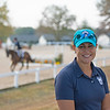 Jen Roytz at<br /> Thoroughbred Makeover at the Kentucky Horse Park.