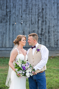 Julie & Brian's wedding day at their Private Farm in Versailles, KY 9.1.18.