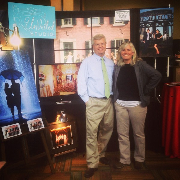 At the Bridal Show!