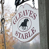 Phil Gleaves Stable at the Oklahoma Training Center Wednesday Oct. 28, 2020 in Saratoga Springs< N.Y.   Photo by Skip Dickstein