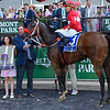 Letruska with jockey Jose Ortiz up wins the 53rd running of The Ogden Phipps on Belmont Stakes Day at Belmont Park Saturday June 5, 2021 in Elmont, N.Y.  . Photo  by Skip Dickstein