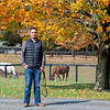 Waldorf Farm manager Kenny Toye on the farm Saturday Oct. 10, 2020 in North Chatham, N.Y.   Photo by Skip Dickstein