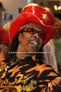 Funk bassist and Warwick endorser, Bootsy Collins. © Erin Suggett Photography 2010.  All Rights Reserved.