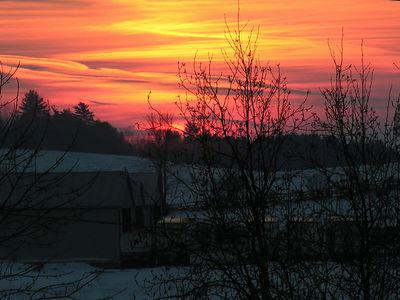 0435 Sunset in Keene
